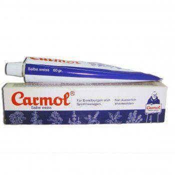 carmol crema fredda Indicato per frizioni e massaggi prima e dopo le attività sportive.