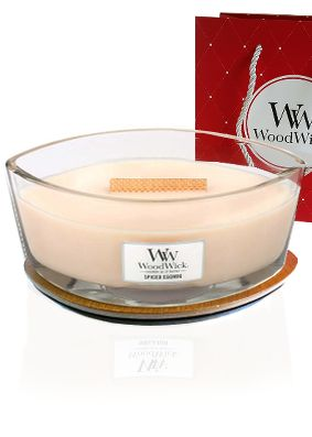 Woodwick Hearthwick Spiced Eggnog Candle