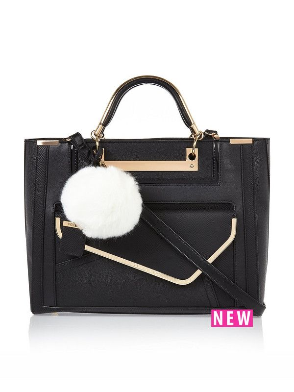 River Island Tote With Clutch Bag | very.co.uk