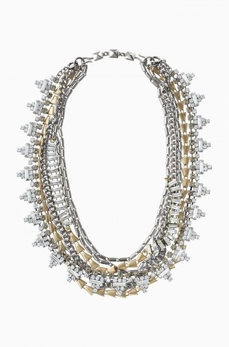 Stay on trend with the Sutton mixed metal versatile necklace & wear it 5 different ways! Find fashion necklaces, trendy necklaces  & more at Stella & Dot.
