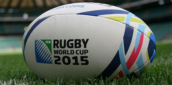 Official Rugby World Cup 2015 Gilbert Ball Launched  Rugby videos of tackles, tries, funny incidents and more  http://Rugbydump.com