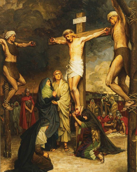 Christ on the Cross.