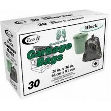 "T87090030- Household Garbage Bags 26x36\"" 30per"