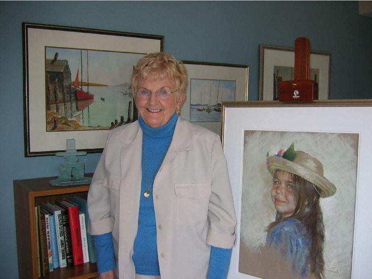 Canadian artist Dorothy Oxborough dies at age 92