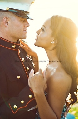 Beautiful! You could see the their love just by the way they are staring at one…