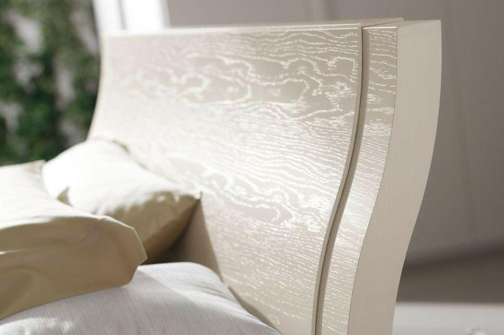 Camera da letto di design in vero legno 83 - testiera del letto   Napol.it