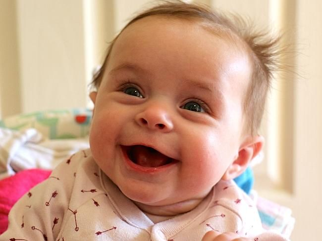 Sophie Ditrih shows off her gorgeous smile #babyoftheweek