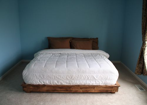 How To Build A King Size Bed Frame Out Of Pallets