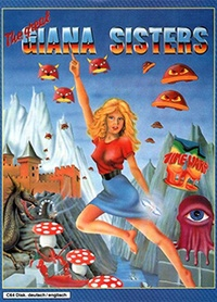 The Great Giana Sisters on C64. I managed to get this before it was pulled off the shelves (in a matter of days). Played better than Super Mario Brothers which it blatantly ripped off.