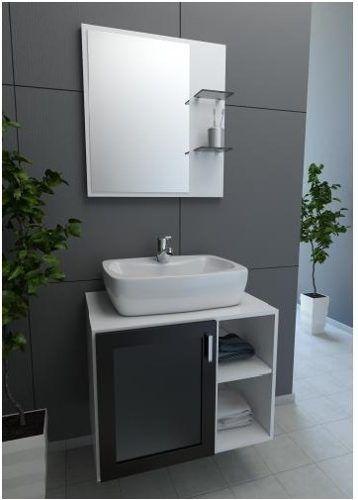 17 Best ideas about Gabinete Para Banheiro on Pinterest  Gabinete para banhe -> Banheiro Pequeno Cinza