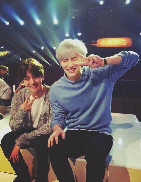 Baekhyun and chanyeol #Baekyeol #Chanbaek