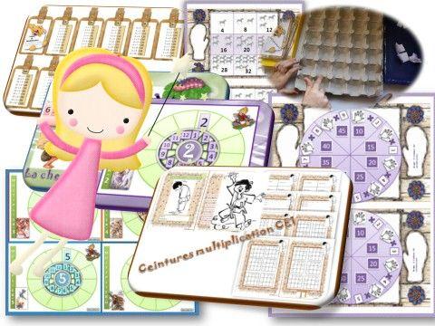 Les 25 meilleures id es concernant jeux sur les for Les table de multiplication jeux
