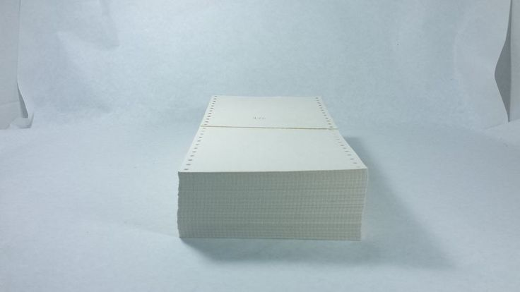 976 White Tractor-Fed Index Cards