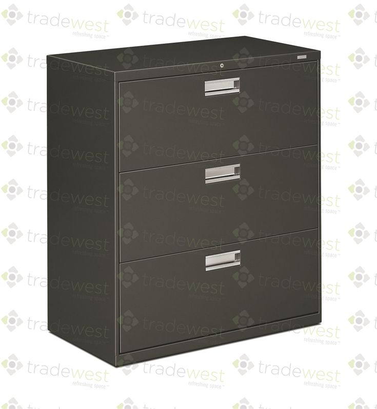 HON Brigade 3 Drawer Lateral Filing Cabinets