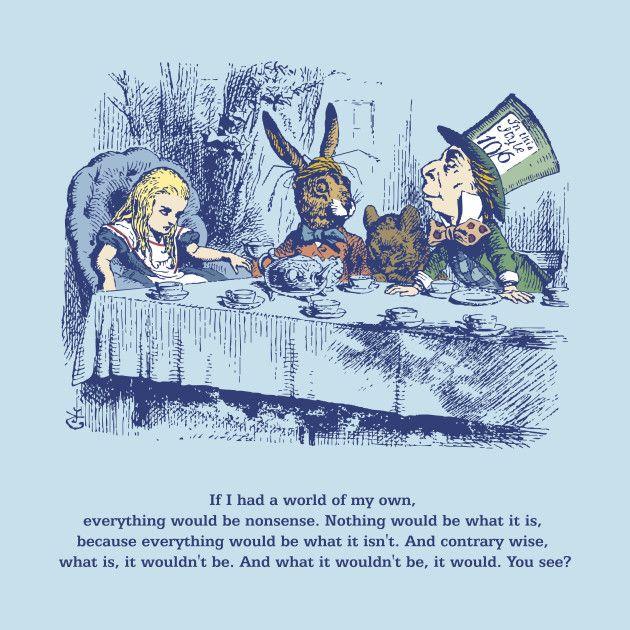 March Hare Quotes: $20.00, Books, Alice, Nonsense, March Hare, Dormouse, Mad