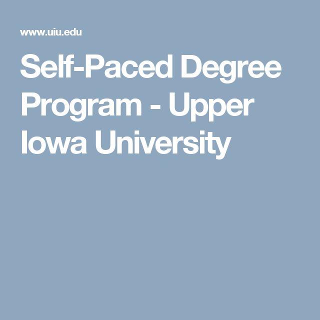 Self-Paced Degree Program - Upper Iowa University