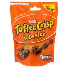 Toffee Crisp Chocolate Bag 120g