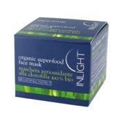 Organic Super Food Face Mask - Maschera antiossidante alla clorofilla 100%