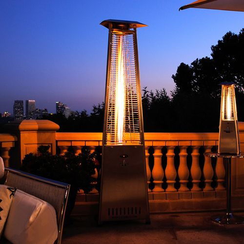 This Lava Heat 2G Propane Patio Heater is built with shatter-resistant  glass tube, - 45 Best Images About Patio Heaters On Pinterest Black Stainless