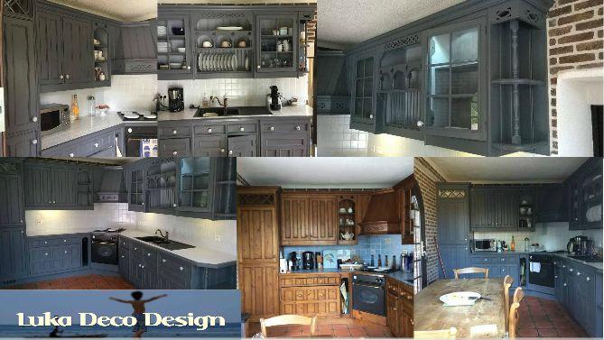 conseils id es deco pour relooker sa cuisine cuisine relook e avant apr s pinterest. Black Bedroom Furniture Sets. Home Design Ideas