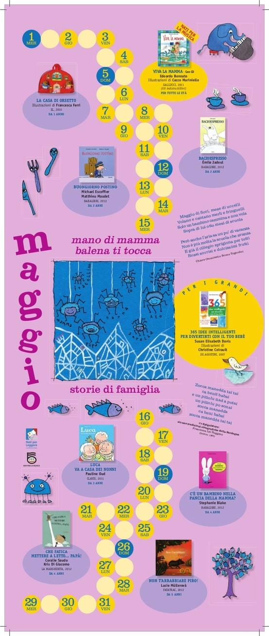 Calendario Nati per Leggere e Nati per Musica in Sardegna 2013: MAGGIO Per info: http://wp.me/pc3cV-25T