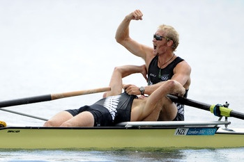 Men's Rowing Pair  Gold: Eric Murray & Hamish Bond
