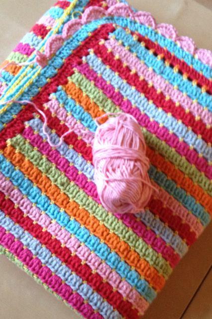 Haken Deken Crochet Blanket Drops Paris