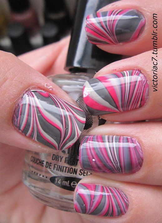 Gris y rosa - Grey and pink