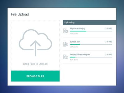 Best Ux Ui  File Upload Loading Images On   Ui