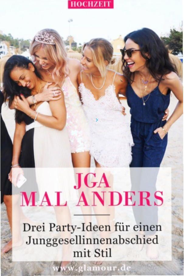 jga #junggesellinnenabschied #ideen #party #stil #glamour
