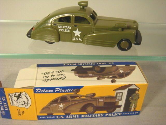 DIMESTORE DREAMS OD US ARMY POLICE CAR #6054 #DIMESTOREDREAMS