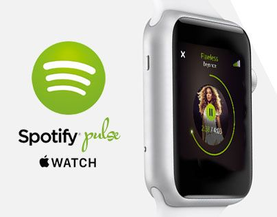 A new, personal music experience. I've developed an Apple Watch concept for…
