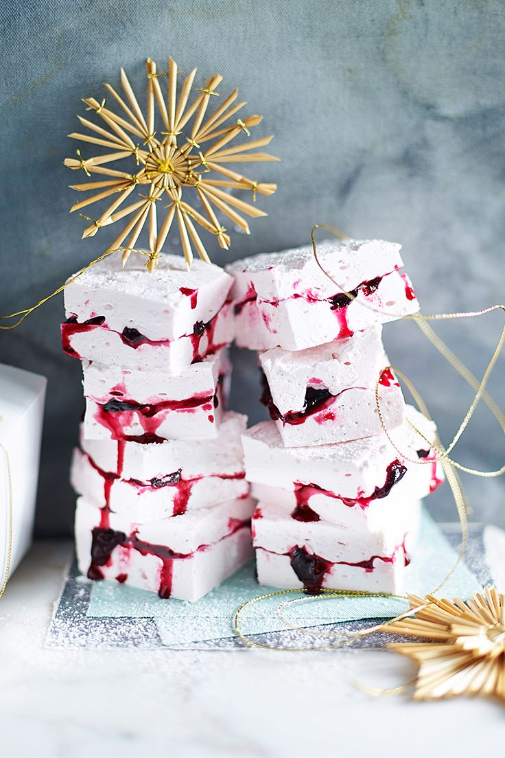 Make the most of the short cherry season with our beautiful take on this old favourite. With a syrupy sweet jam sandwiched between fluffy marshmallows, it's the ultimate way to celebrate this fruit.