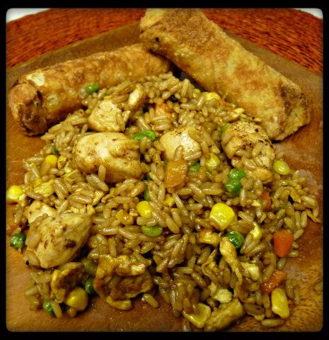 Chicken Fried Rice: Big Green, Chicken Fried Rice