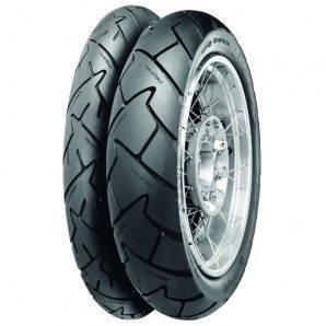Continental TrailAttack 2 Motorcycle Tires. Click to read the review from Rider magazine.