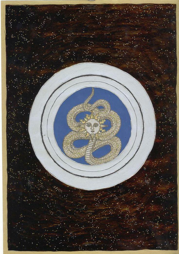 Napfejű kígyó , csillagablakban, 2007