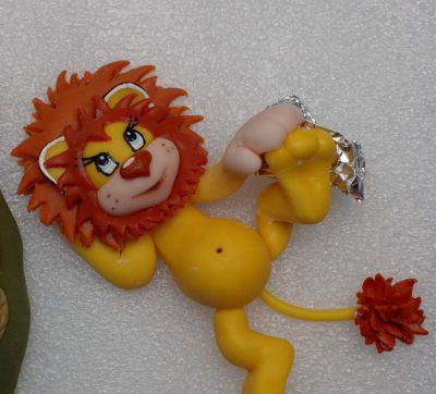 Львенок из мастики. Мастер-класс по изготовлению львенка из мультфильма «Я на солнышке лежу»