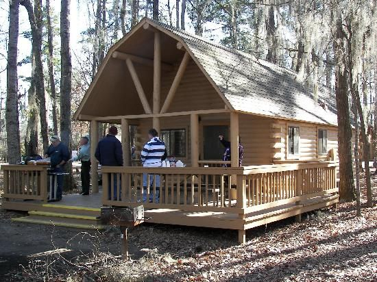 Cabins For Campground Of Uchee Creek Army Campground