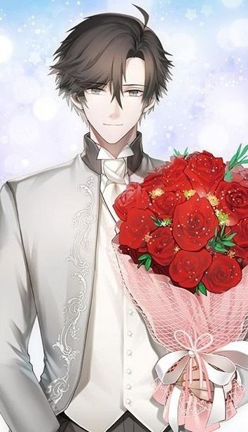 134 best images about anime boys on pinterest he is - Boy with rose wallpaper ...