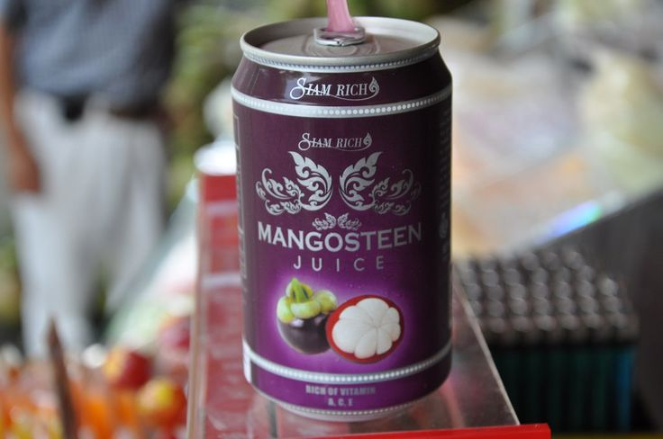 It looks like a purple orange. What could it be? The amazing Mangosteen fruit! This little fruit could change your life. Learn how!