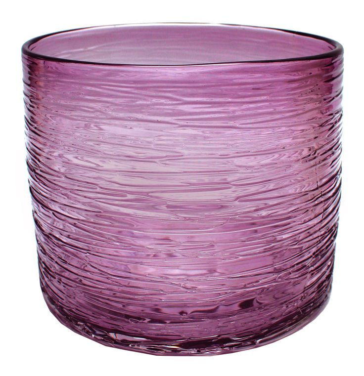 St. Enimie Round Glass Vase