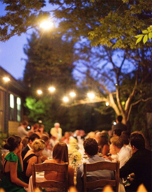 : Outdoor Wedding, Favorite Places, Engagement Parties, Autumn Wedding, Families Dinners, Outdoor Dinners Parties, Outdoor Parties, Outside Lights, Outdoor Receptions