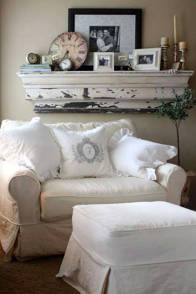 White ottoman