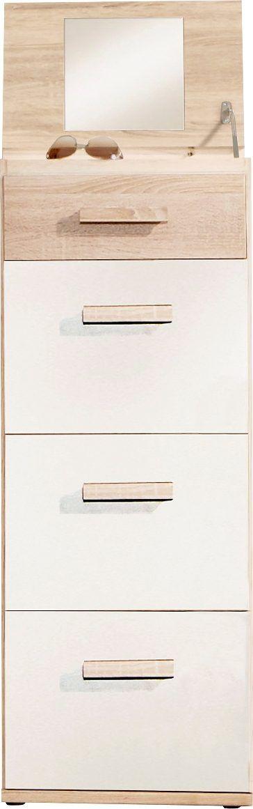 Hochkommde mit Spiegel beige, mit Schubkästen, WIMEX Jetzt bestellen unter: https://moebel.ladendirekt.de/wohnzimmer/schraenke/sideboards/?uid=ed447e33-76bf-5d7f-8ea7-942abe3394ef&utm_source=pinterest&utm_medium=pin&utm_campaign=boards