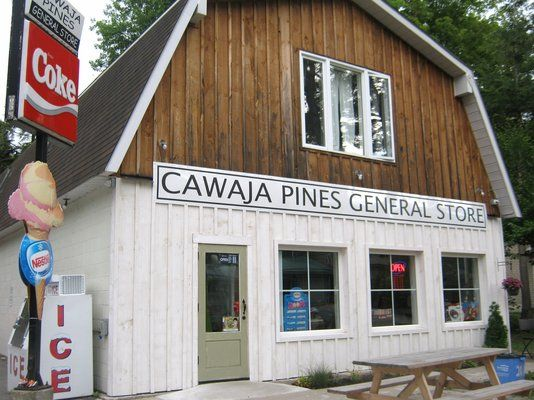 Cawaja Pines General Store - Penetanguishene, ON, Canada. The newly renovated…