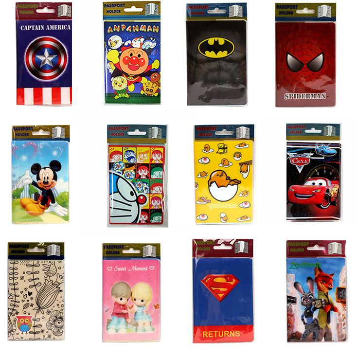 22 Styles 2016 Fashion Cartoon Superman Mickey Passport Holder PVC Leather Travel Passport Cover Case Card ID Holders 14*9.6cm -  http://mixre.com/22-styles-2016-fashion-cartoon-superman-mickey-passport-holder-pvc-leather-travel-passport-cover-case-card-id-holders-149-6cm/  #CardIDHolders