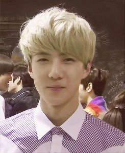 Sehun's aegyo! Yes! This is what you need on a bad day. #EXO #Exo #Sehun