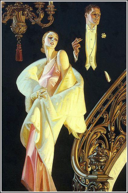 J. C. Leyendecker 1932 by Art & Vintage, via Flickr