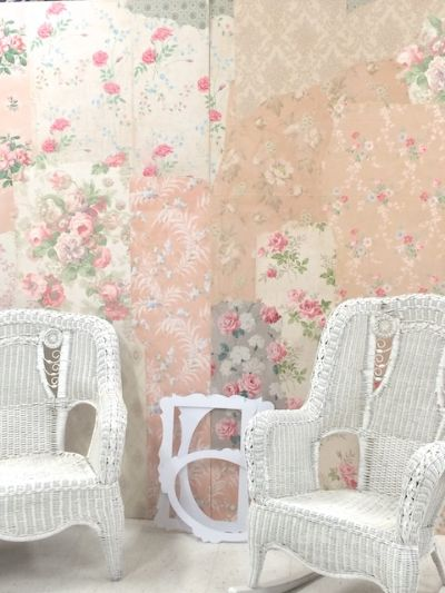 57 best A DIY Wallpaper Wedding images on Pinterest Backdrop
