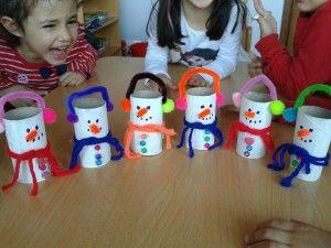Anaokulu kış mevsimi ile ilgili etkinlik örnekleri